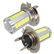 2x-LED-H7-Light-5630-Chip-33-SMD-LED-Auto-Car-Light-Lamp-Bulb-Xenon-White