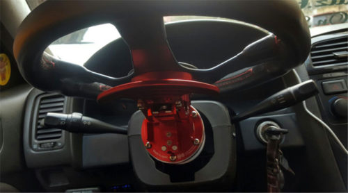 RASTP-WORKS-BELL-Tilt-Racing-Steering-Wheel-Quick-Release-Hub-Kit-Adapter-Body-Removable-Snap-Off