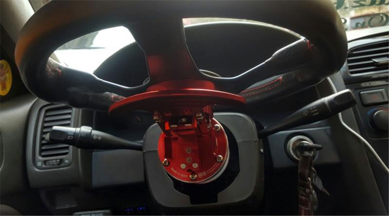 RASTP-WORKS-BELL-Tilt-Racing-Steering-Wheel-Quick-Release-Hub-Kit-Adapter-Body-Removable-Snap-Off